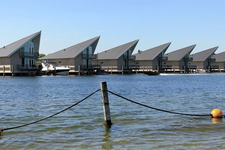 Holland | Zeeland | Holiday home Waterpark Veerse Meer - Watervilla Luxe 6 | all year | ExteriorSummer
