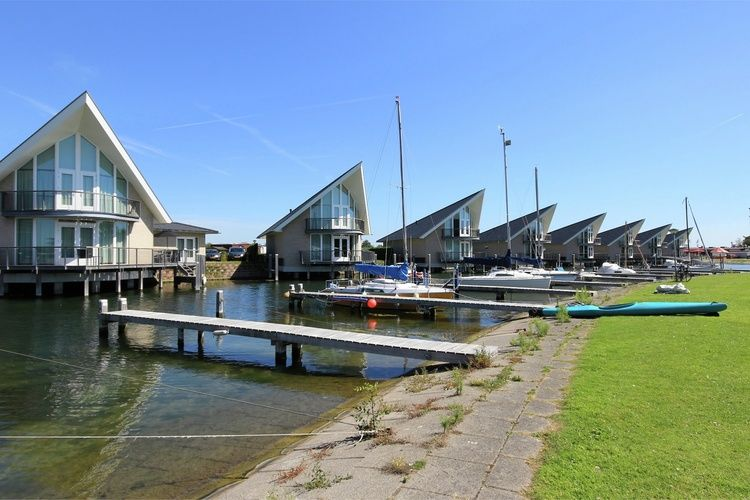Holland | Zeeland | Holiday home Waterpark Veerse Meer - Watervilla Comfort 8 | all year | ExteriorSummer