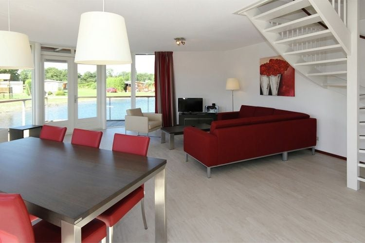 Holland | Zeeland | Holiday home Waterpark Veerse Meer - Watervilla Comfort 8 | all year | LivingRoom